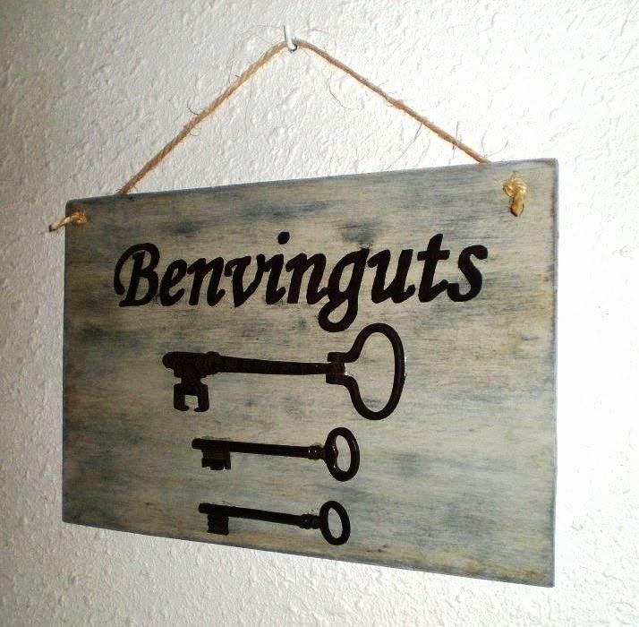 decorando con llaves antiguas y candados parte 1