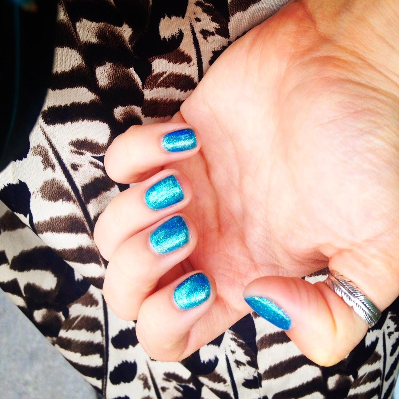 Gelish gel manicure, The Ten Spot