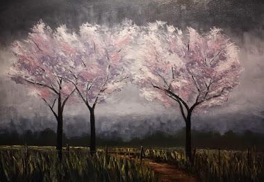 """""""Spring Blossom"""" 18x24"""