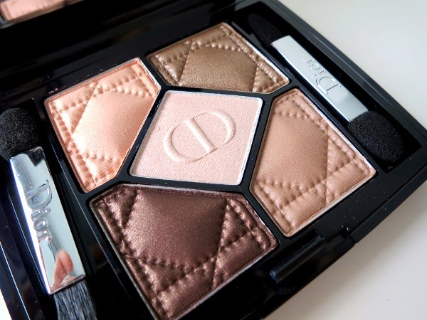 Dior 5 Couleurs eyeshadow palette 'Amber Nuit'