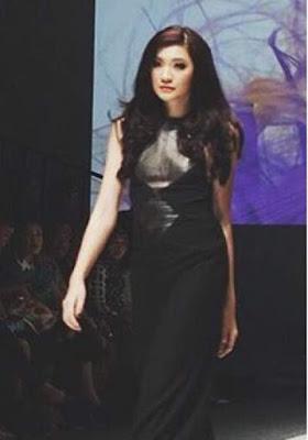 Gaya rambut Glam Dark Violet Patricia Devina 2011478
