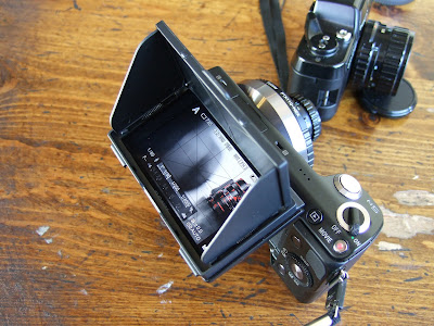 Sony NEX 5N with LCD Protector