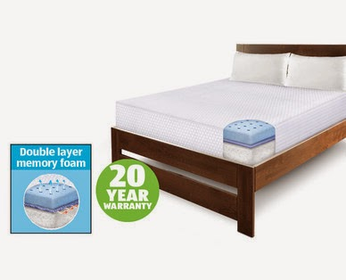 I Got A Mattress At Aldi Review Of Huntington Home Memory Foam