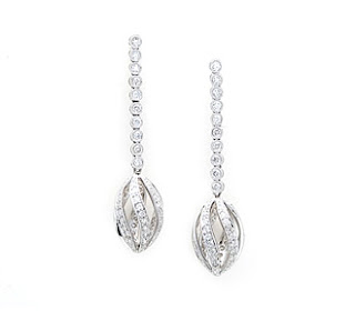 diamond earrings for wedding