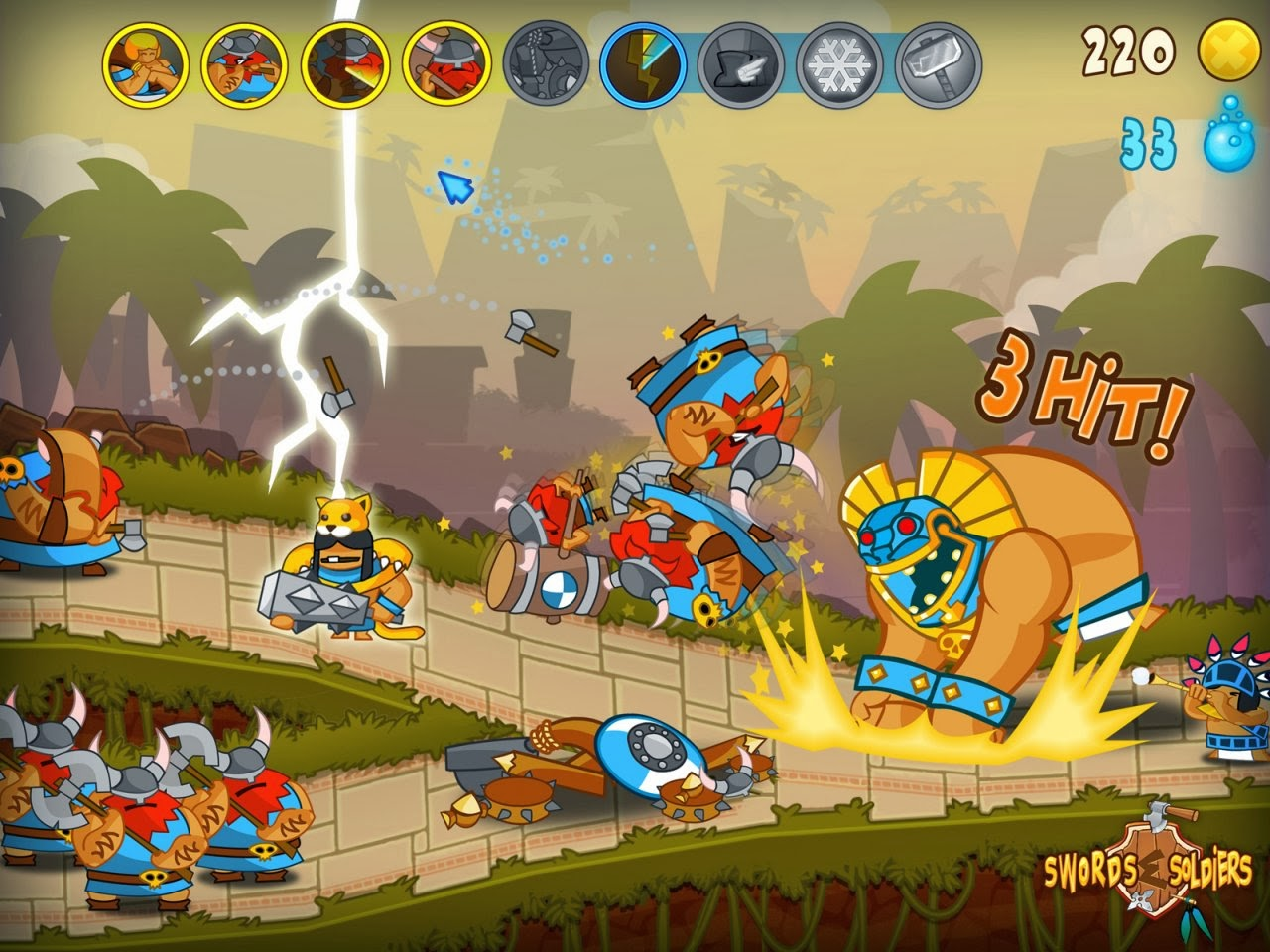 Download Game Swords and Soldiers Full Version PC Gratis