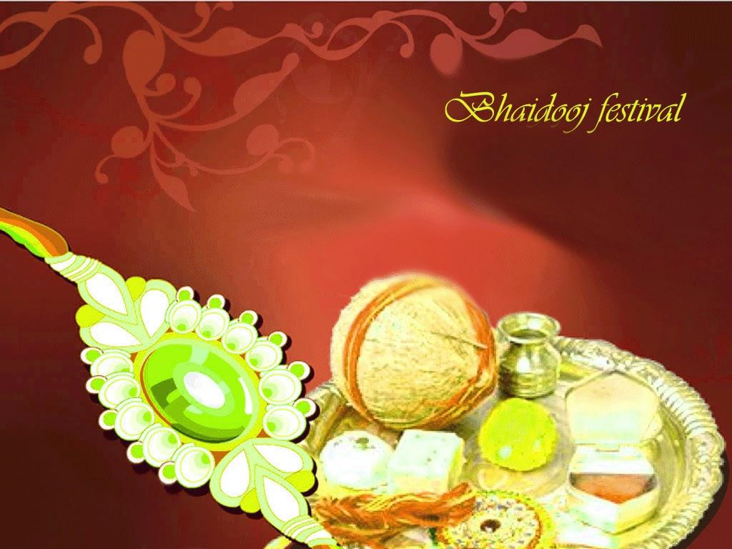 Bhai Dooj Festival Wishes Greetings Wallpapers