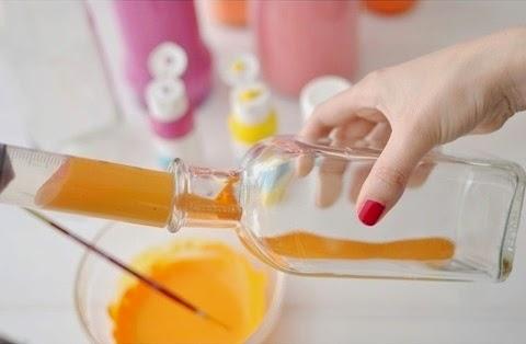 Kerajinan Tangan Dari Botol Bekas, Vas Botol Bekas 2