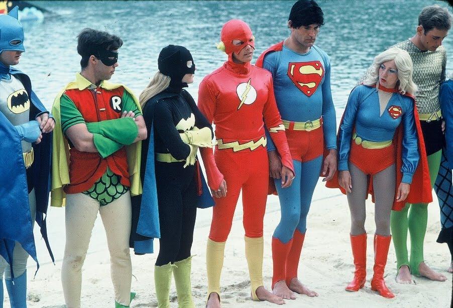 Super 70s And 80s Sea World Superheroes Water Ski Show