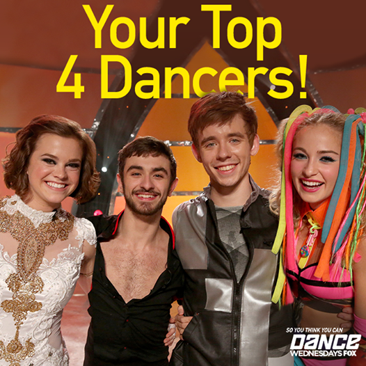 Recap/review of So You Think You Can Dance Season 11 - Top 4 Perform by freshfromthe.com