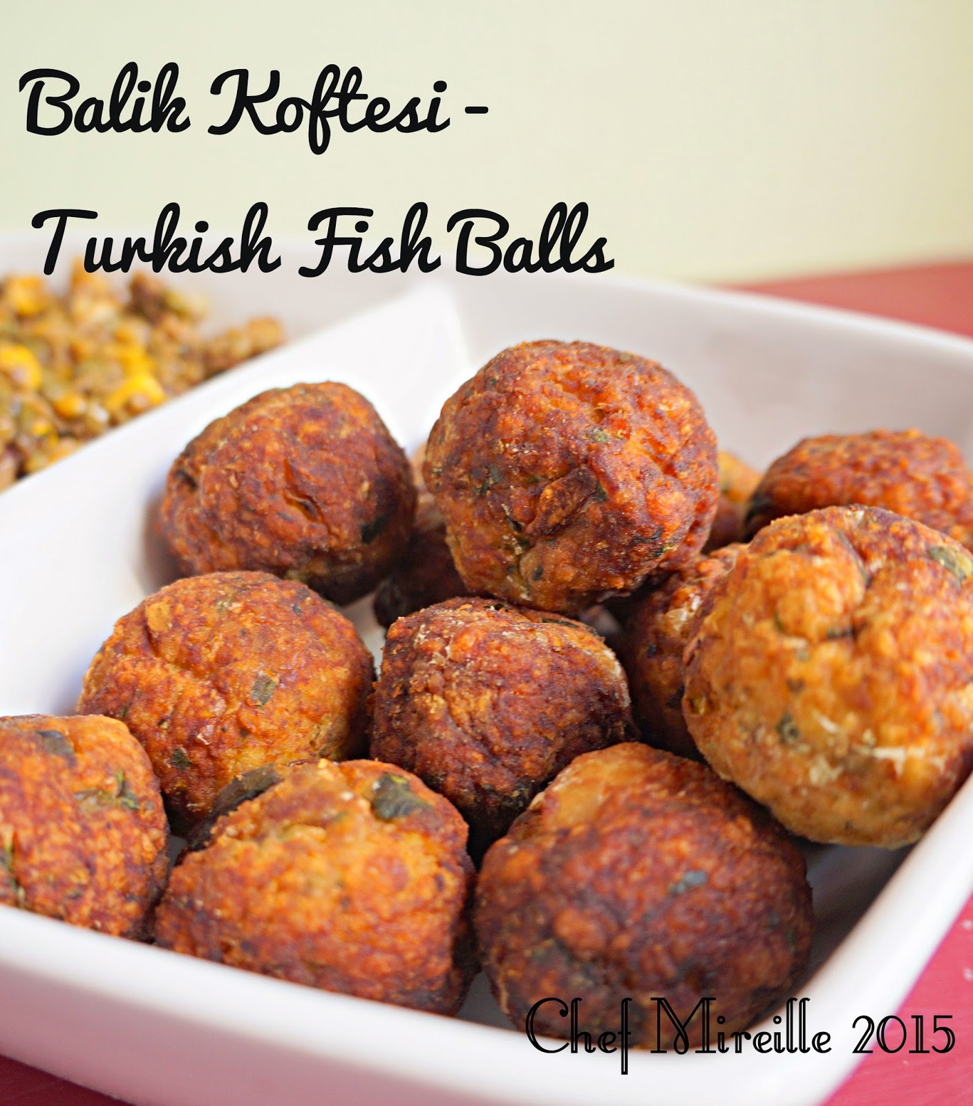 Turkish Fish Fritters