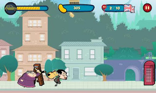 Screenshots of the Mr Bean: Around the world for Android tablet, phone.