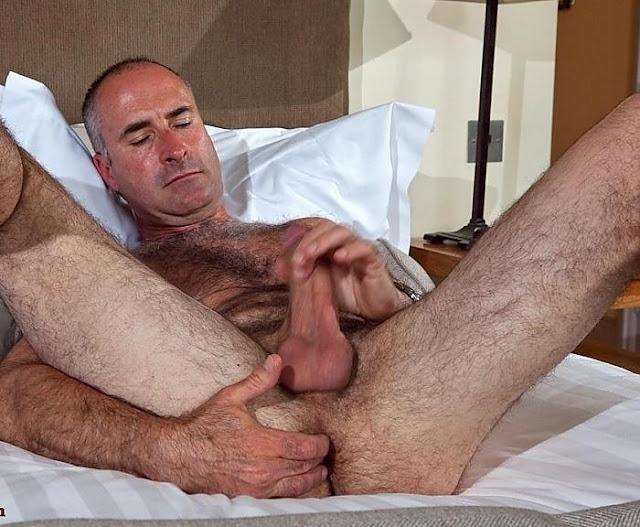 Mature men masturbating picture