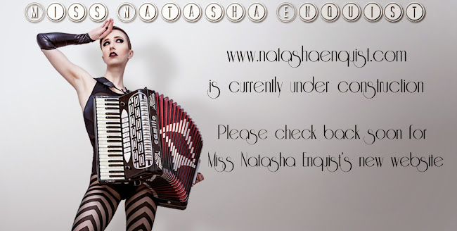 Miss Natasha Enquist - Female Accordionist, Singer & Performer