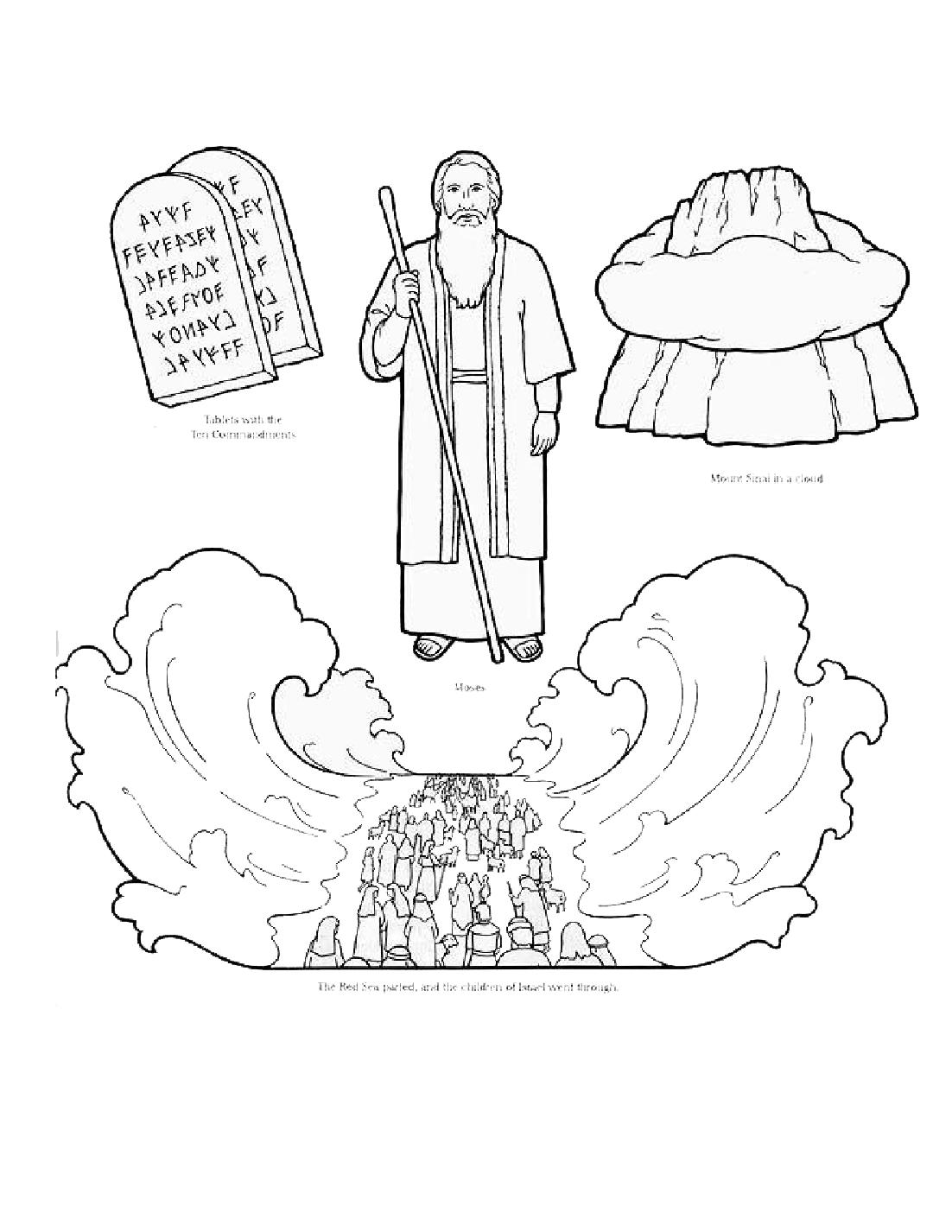 Imagenes Cristianas Para Colorear: Dibujos Para Colorear De El paso ...