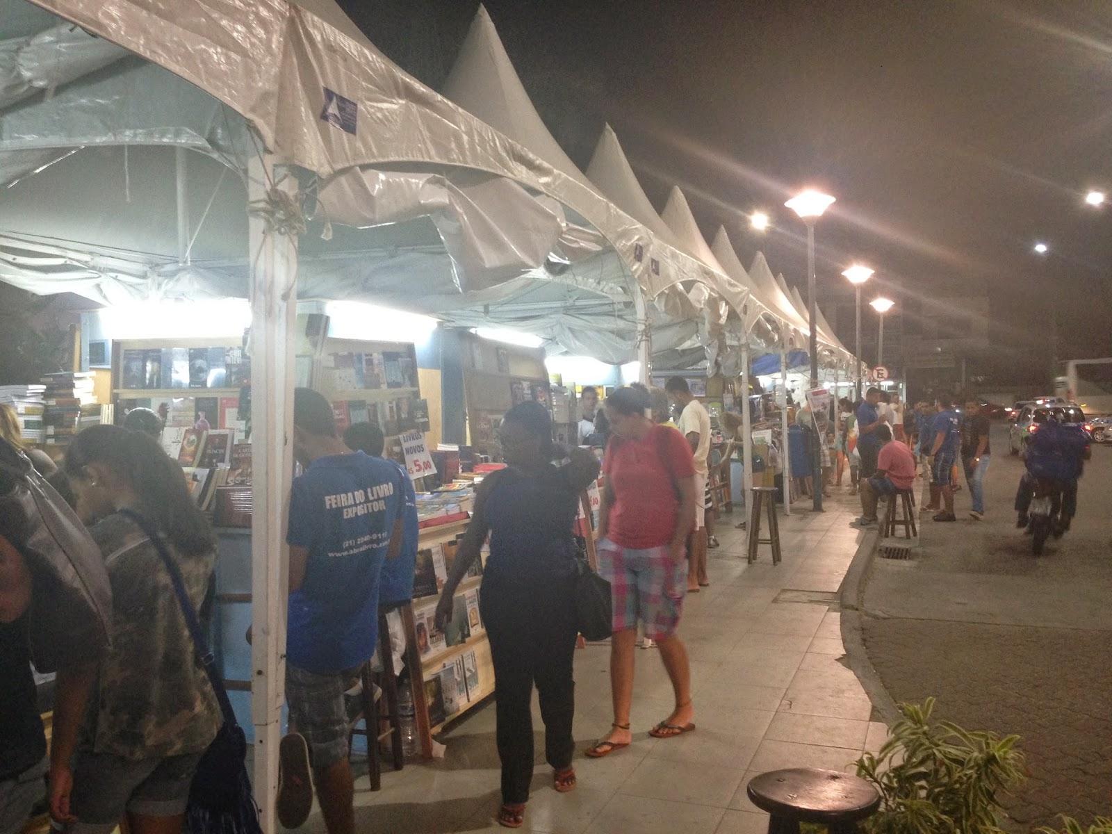 Feira de livros Rio das Ostras