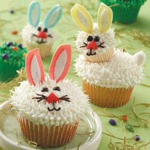 Easter Bunny Cupcakes Recipes