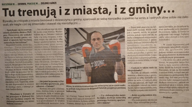 trening, sporty walki, Zielona Góra, kickboxing, boks, muay thai