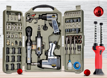 tool kit in folding case