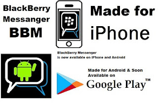 Blackberry Messenger for android and iPhone