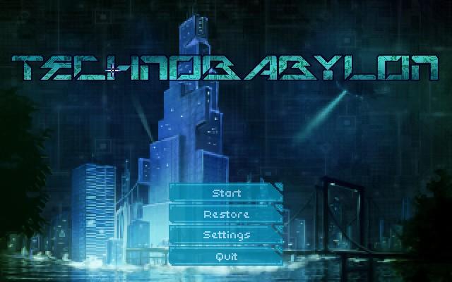 Impresiones con Technobabylon, una aventura gráfica cyberpunk como las de antes