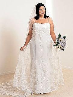 vestidos de casamento para gordinhas