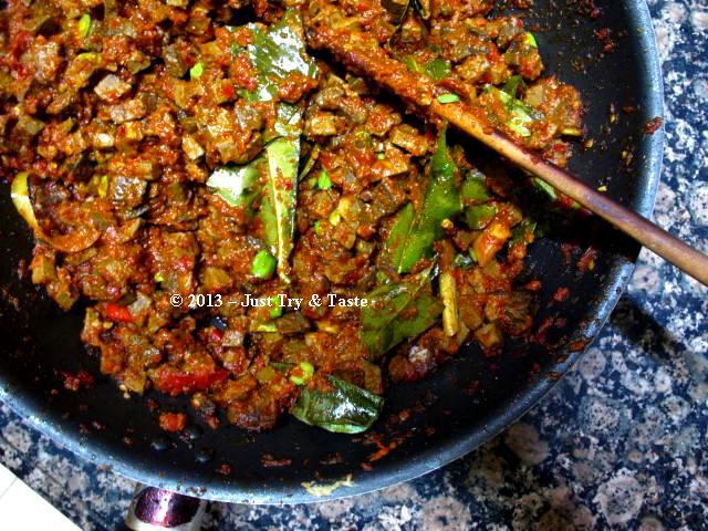 Sambal Goreng Hati   Just Try & Taste