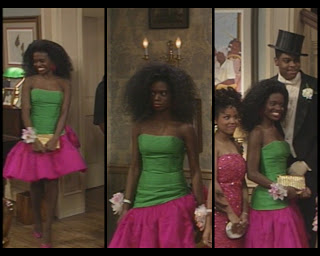 The Cosby Show Huxtable fashion blog LaChanze prom