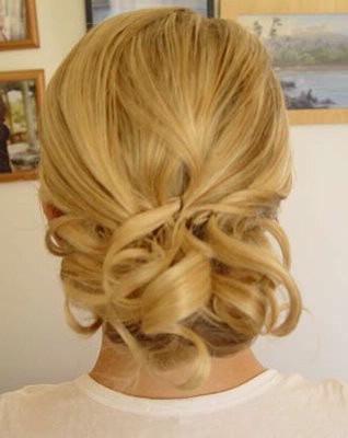 Peinados recogidos para madre de la novia