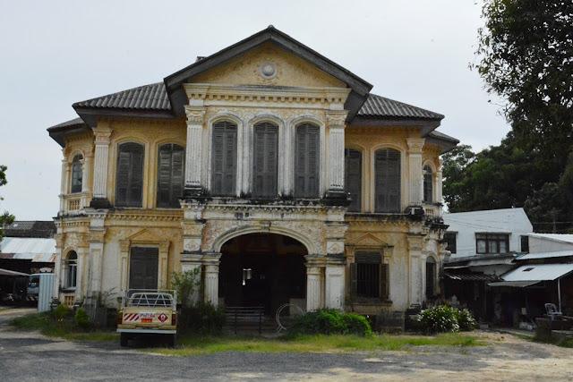 Phuket Town mansions
