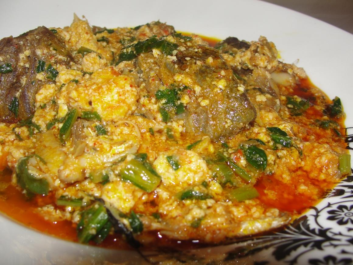 Watch How to Make Eba (a Nigerian Meal) video
