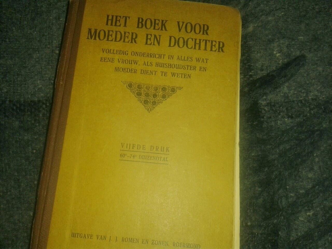 het boek voor moeder en dochter
