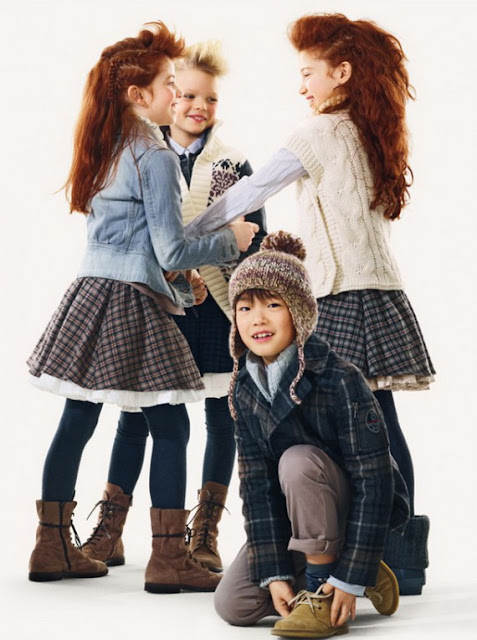 Benetton fall 2012 kids clothing