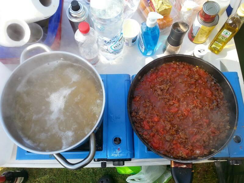 Wesfood tag 3 spaghetti mit hackfleischsauce - L ei weich kochen ...