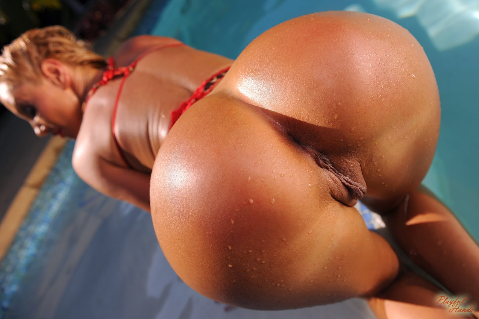 Perfect and round perfect pussy ass