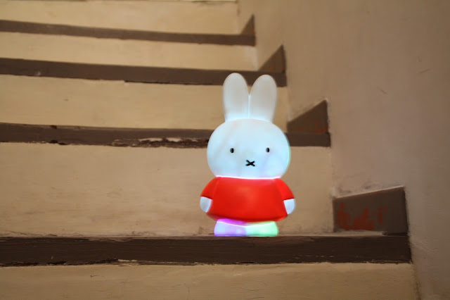 diy lampe miffy veilleuse