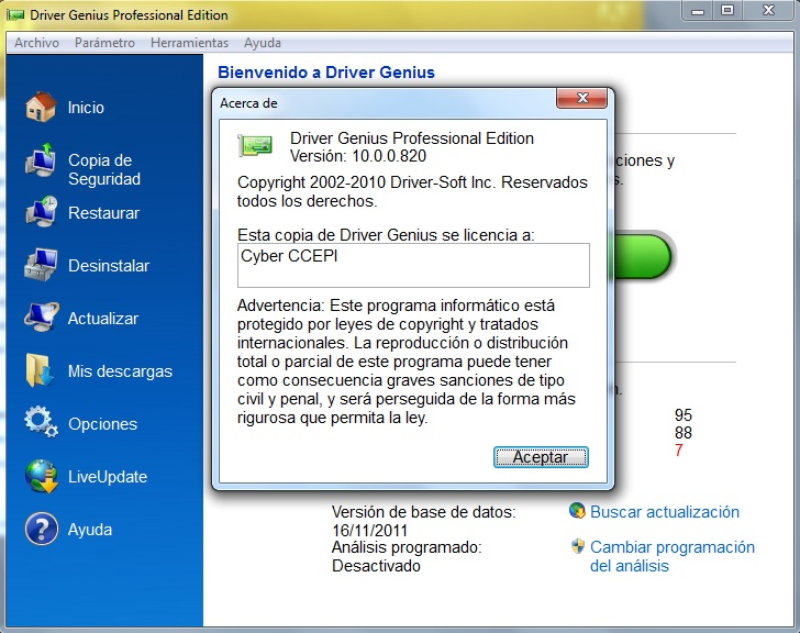Driver Genius Professional 11 Serial Key License-crack Pro Edition 2012 Ful