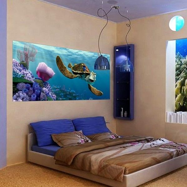 Papel pintado fotomurales panor micos disney for El mural pelicula online
