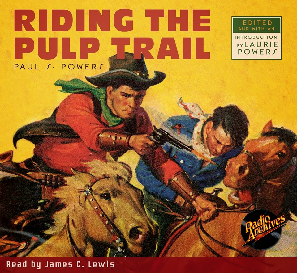 RIDING THE PULP TRAIL AUDIO BOOK