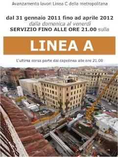 lavori metro Roma