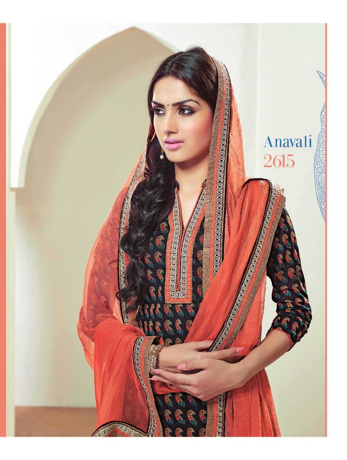 dsquare clothing ganga anavali premium cotton unstitched material posted by deepak srinivasan at 06 06