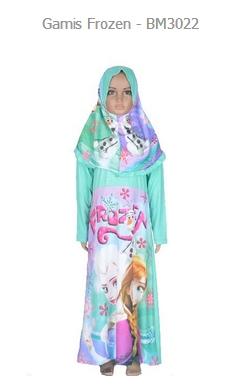Koleksi Baju Gamis Muslim Anak Model Terbaru Gaya Masa