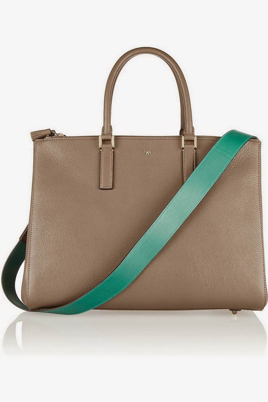 Net-a-Porter Anya Hindmarch Ebury textured-leather tote