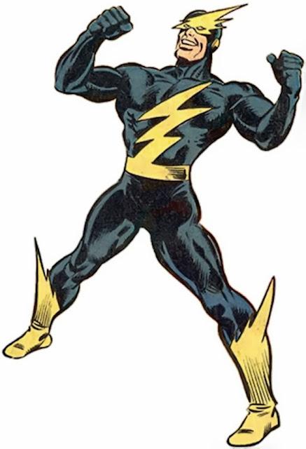 Dibujo del supervillano Apagón-Marvel