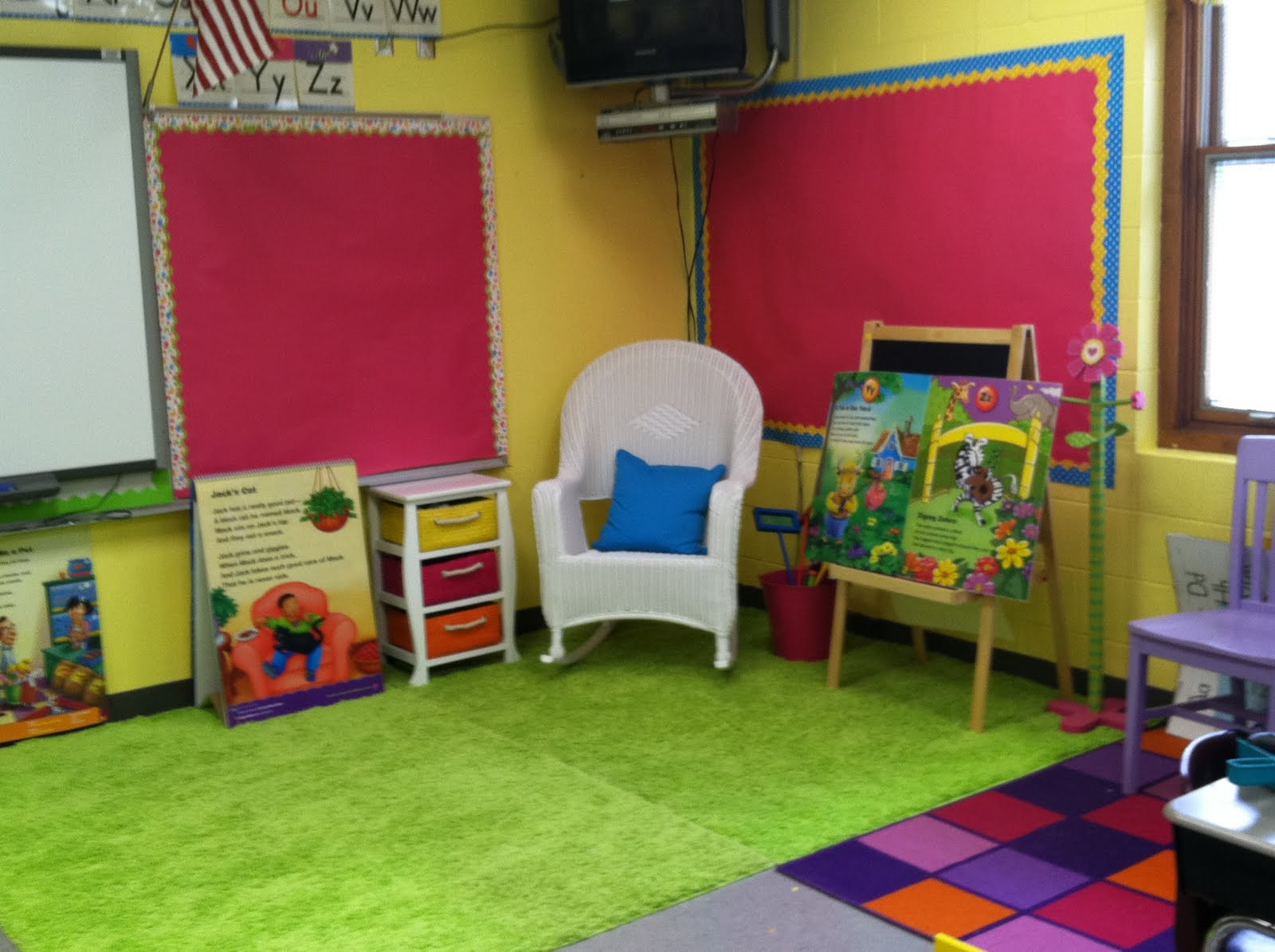Classroom Decor Kindergarten ~ Creative preschool classroom design home decorating ideas
