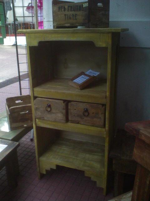 Muebles rusticos edr vintage edr muebles en madera reciclada for Muebles con madera reciclada