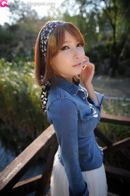 3 Jang Jung Eun - Outdoor-very cute asian girl-girlcute4u.blogspot.com