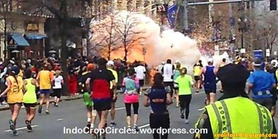 Kontroversi Ledakan Boston April 2013
