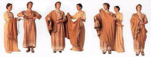 Ropa romanas