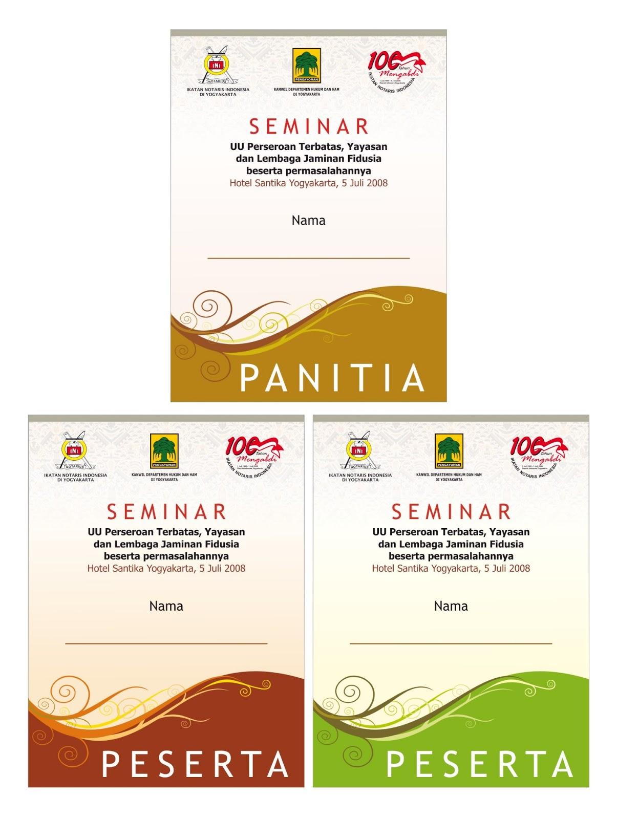 desain co card seminar