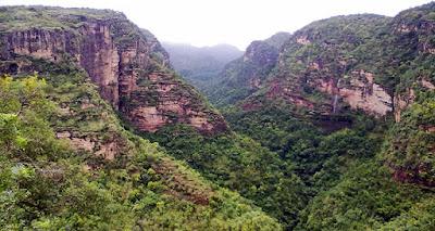 Mountain in Mandu